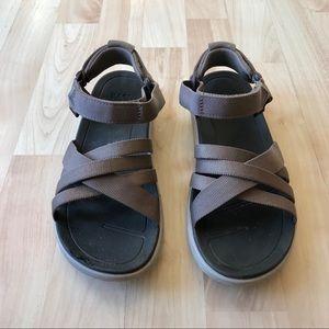 Teva Tan Strappy Sandals Size 7
